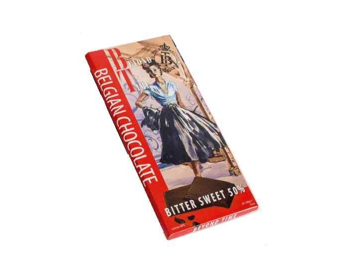 Темный шоколад Beyond Time какао 50%, 100 г