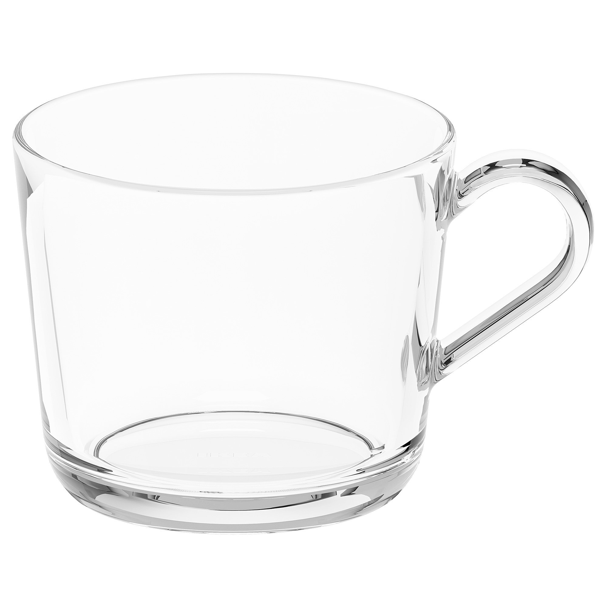 ИКЕА/365+ Кружка прозрачное стекло,240 мл