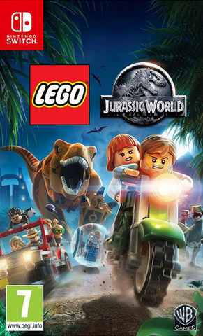 LEGO Jurassic World (Nintendo Switch, русские субтитры)