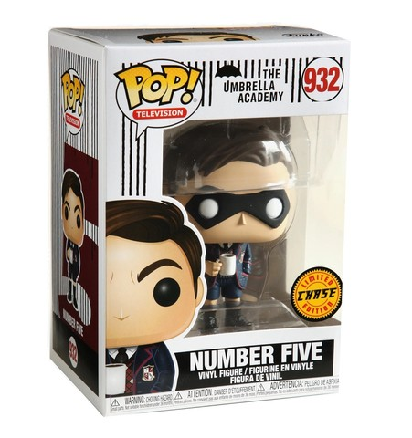 Number Five (The Umbrella Academy) Chase Funko Pop! Vinyl Figure || Академия Амбрелла