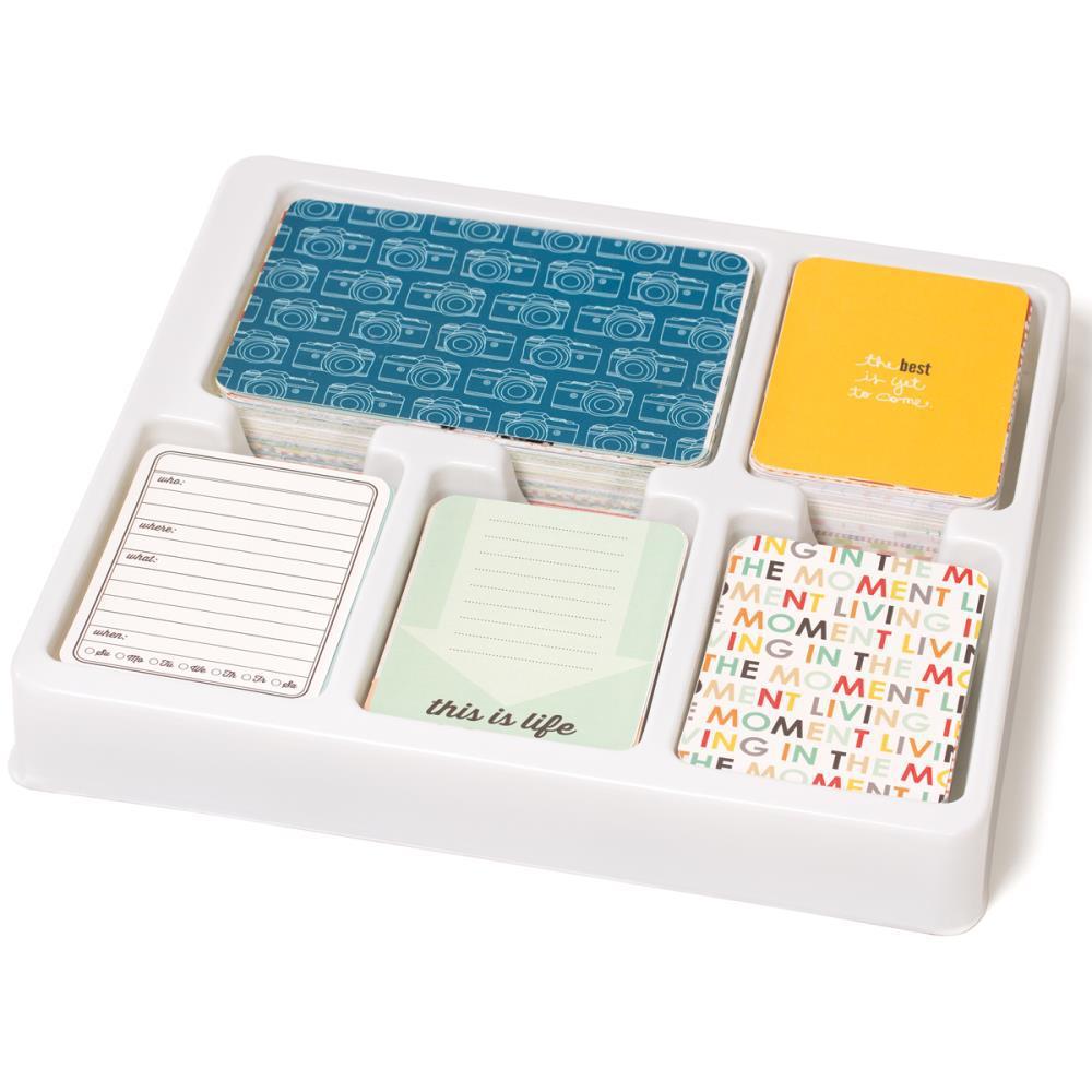 JADE CORE KIT- большой комплект карточек для Project Life