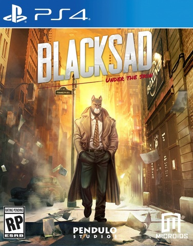 Blacksad: Under the Skin Limited Edition (PS4, русская версия)