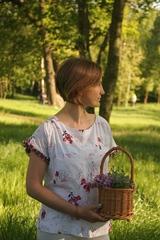 Блузка Aleksandra 2973 Миси цветы