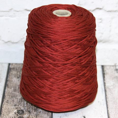 Шелковый шнурок с наполнителем HASEGAVA / BALLON 77 красно-коричневый