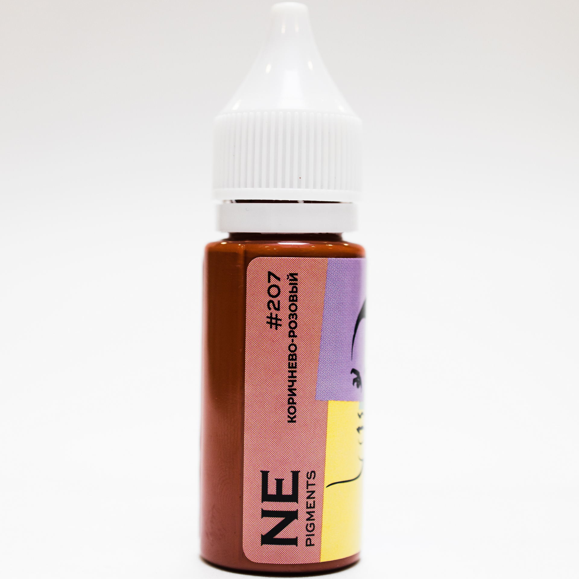 Пигмент NE Pigments #207 Коричнево-розовый