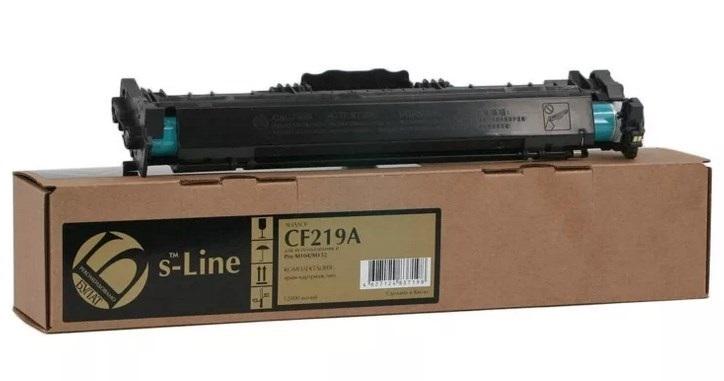 БУЛАТ s-Line №19A CF219A, DRUM с чипом, черный, для HP, до 12000 стр.