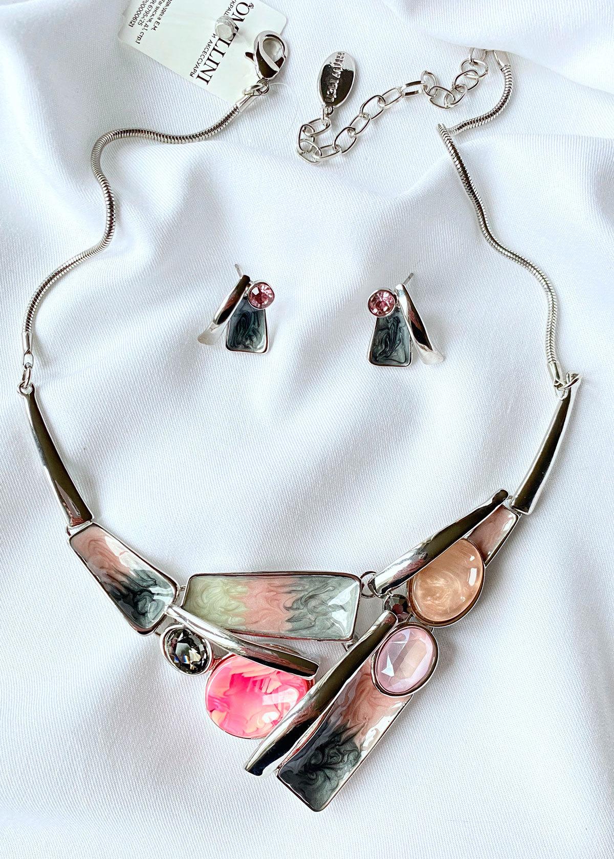 Комплект Арт Плей Мод.5 розовый серый (акрил стекло глазурь)