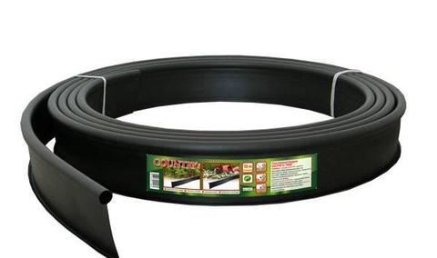 Бордюр пластиковый чёрный L10м