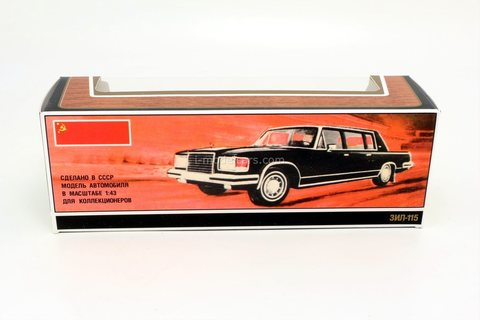 Box ZIL-115 Government limousine 1:43 Made in USSR reprint Agat Tantal