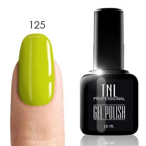 TNL Classic TNL, Гель-лак № 125 - неоновый желтый (10 мл) 125.jpg