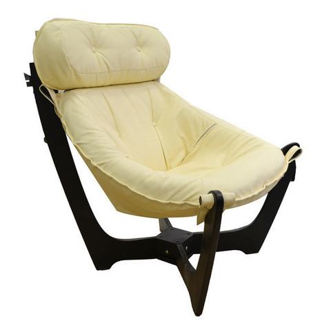 Кресло для отдыха Модель-11 (Дунди-112/Венге) бежевый
