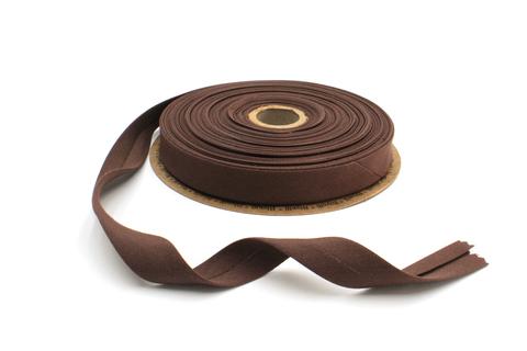Бейка косая х/б,20 мм, шоколад