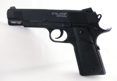 Пистолет пневматический Stalker S1911RD Blowback (Colt 1911, металл/пластик) 120 м/с