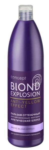 Бальзам оттеночный с тонирующим эффектом Арктический блонд Concept