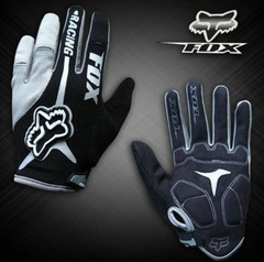 Велосипедные перчатки Fox длинные (серые)