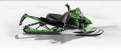Снегоход Arctic cat M 6000 153 SP green фото