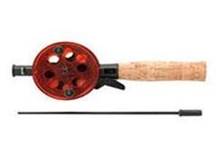 Удочка зимняя, длина 45см, диаметр катушки 93мм, ручка пробка