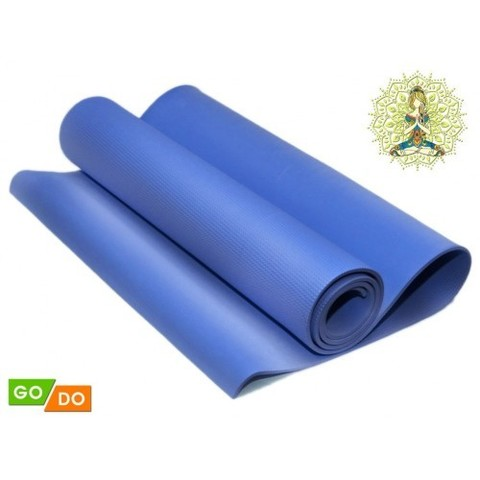 Коврик гимнастический. КВ6106 (Синий) (37922)