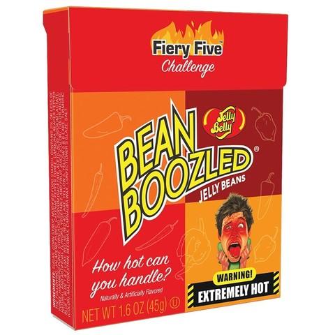 Jelly Belly Bean Boozled Flaming Five Джелли Белли Бин Бузлд острые вкусы 45 гр
