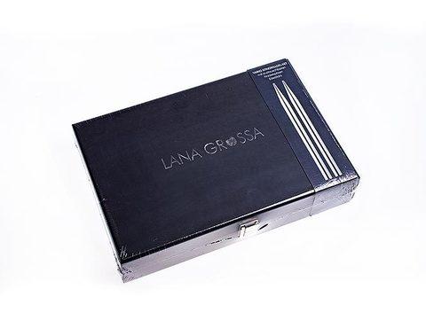 Набор разъемных спиц (сталь, нержавеющая) Lana Grossa