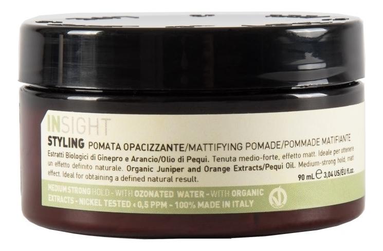 Моделирующая помада для укладки волос с матирующим эффектом MATTIFYING POMADE (90 мл)