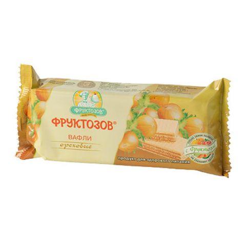 Вафли ФРУКТОЗОВ Ореховые с фруктозой 65 г РОССИЯ