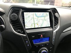 Магнитола для Hyundai Santa Fe (13-18) Android 10 4/64GB IPS DSP 4G модель CB-2053TS10