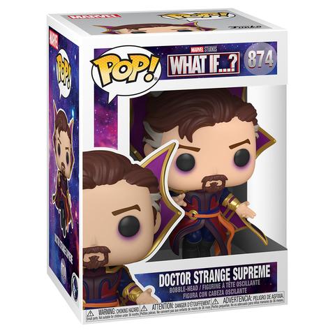 Фигурка Funko POP! Bobble Marvel What If Doctor Strange Supreme 55815 (56938)