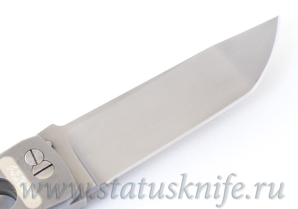Нож Уракова А.И. Брут Brut Silver One-Off 440С - фотография