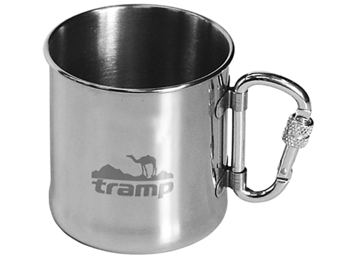 Кружка Tramp TRC-012 с карабином, 300 мл