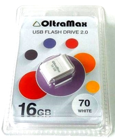 Флеш-накопитель USB 16GB OltraMax 70 белый