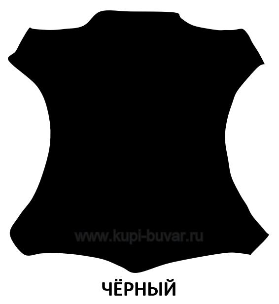 Кожа Cuoietto цвет черный.