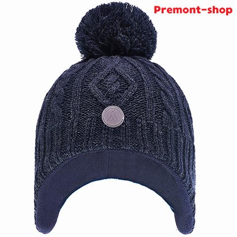 Зимняя шапка Premont WP82922 Dark Blue для мальчиков