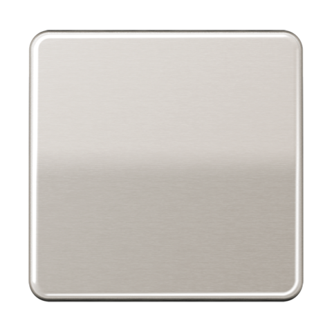 Выключатель одноклавишный. 10 A / 250 B ~. Цвет Платина. JUNG CD. 501U+CD590PT