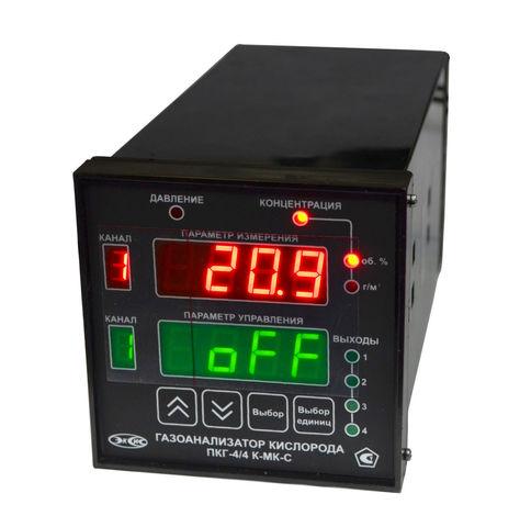 Газоанализатор кислорода ПКГ-4 /4-Щ2-К-4А