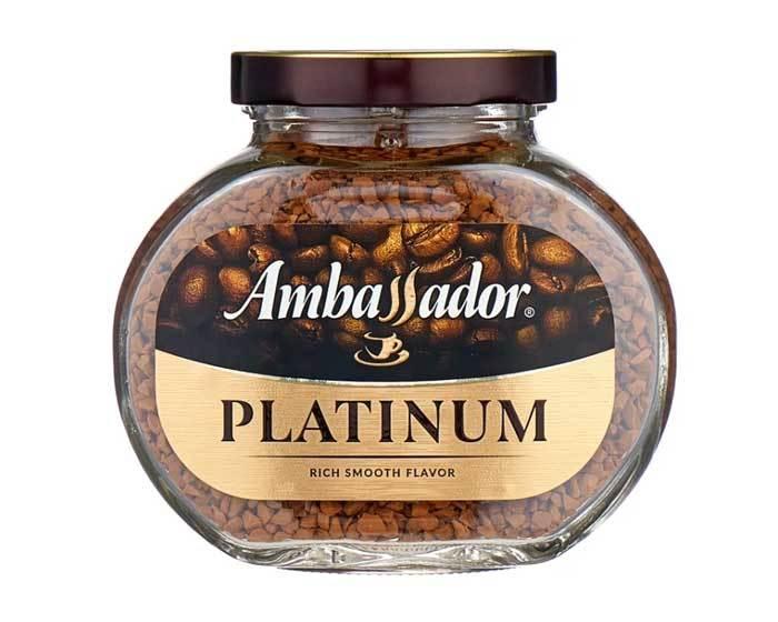 купить кофе растворимый Ambassador Platinum, 47,5 г