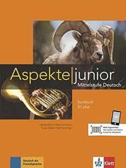 Aspekte junior B1 plus  Kursbuch mit Audio-Date...