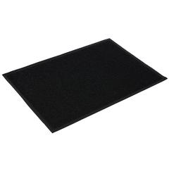 Коврик пористый, черный, 60*90 см