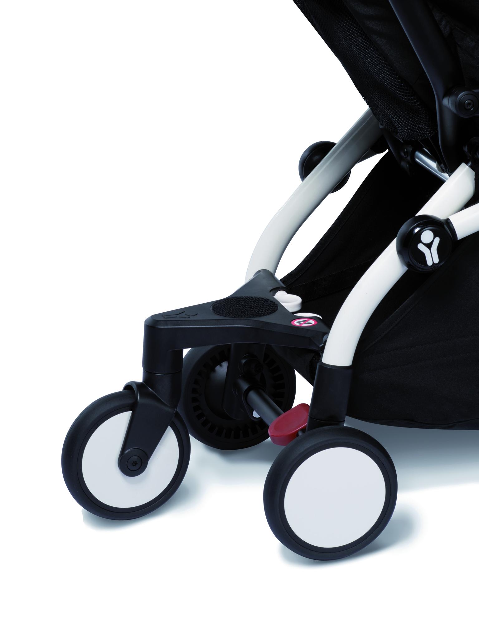 Сумка для коляски BabyZen YOYO+ Bag с колесом платформой Navy Blue
