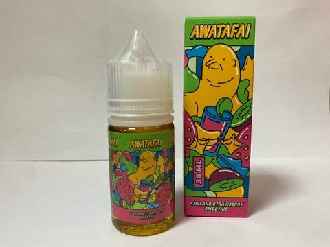 Kiwi & Strawberry Smoothie by AWATAFA Salt 30мл