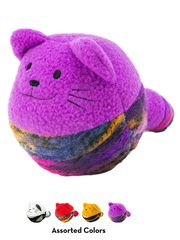 Игрушка для кошек KONG Кот-клубок, с мятой, цвета в ассортименте