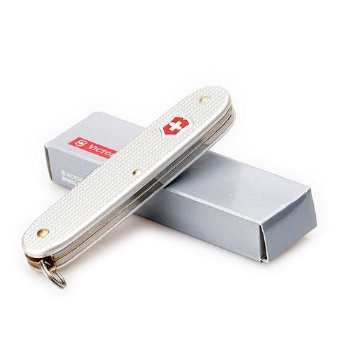 Нож Victorinox Pioneer, 93 мм, 8 функций, серебристый