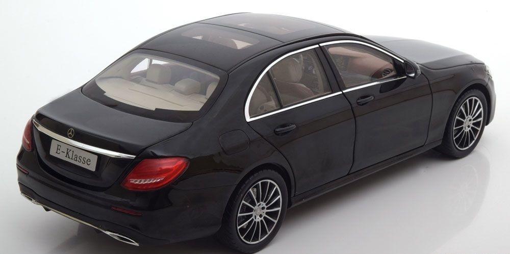 Коллекционная модель Mercedes-Benz E-Klasse W213 Limousine AMG 2016 Obsidian Black