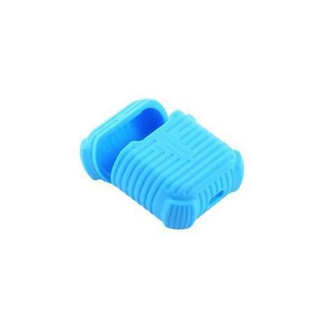 Чехол силиконовый COTEetCI для AirPods CS8106-BL Case Голубой