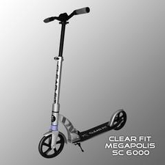 Самокат Clear Fit SC 6000
