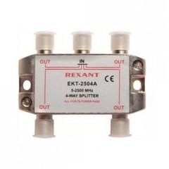 Разветвитель на 4ТВ Rexant EKT-2504A (спутниковый 5-2500 МГц с проходом по питанию