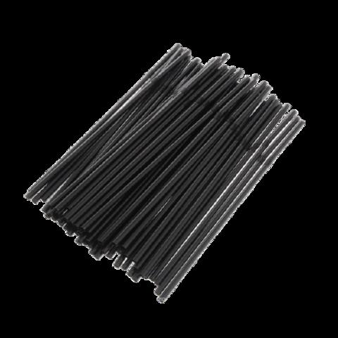 Трубочки кокт. черные (1000 шт)
