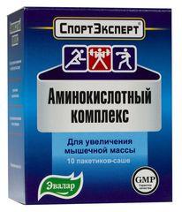 СПОРТЭКСПЕРТ АМИНОКИСЛОТНЫЙ КОМПЛЕКС САШЕ 4,8Г №10 (БАД)