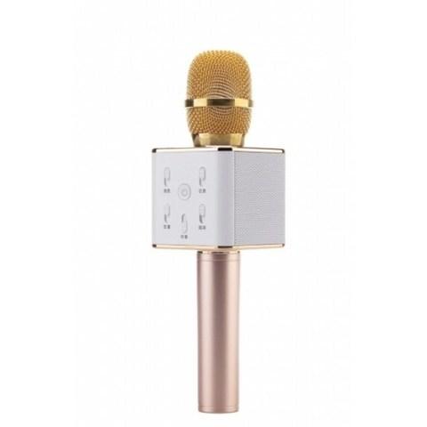 Микрофон для караоке TUXUN Q7 (gold) золотой