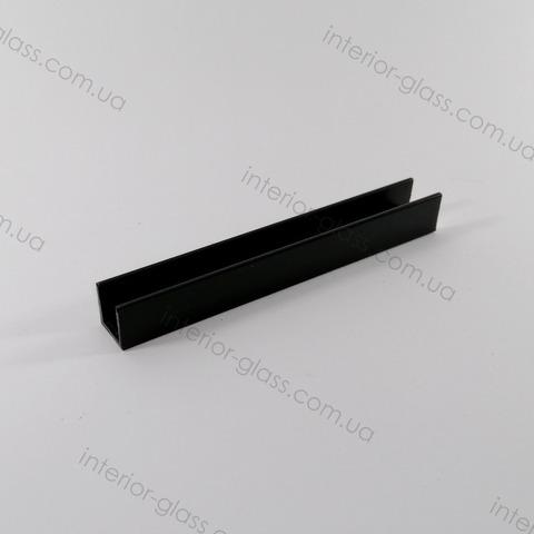 Швеллер (профиль) 12x12 мм, L=3 м ST-501 BLK чёрный матовый